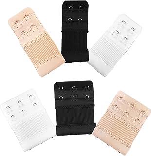 6pcs Women Ladies Soft Comfortable Back Bra 2 Hooks / 3...