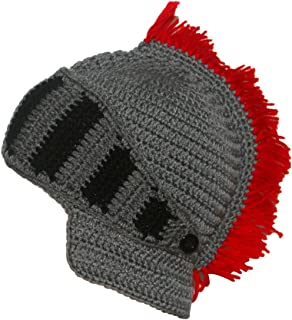 10e6210e292 Kafeimali Original Barbarian Knight Knit Beard Hat Beanie Halloween Knit  Caps