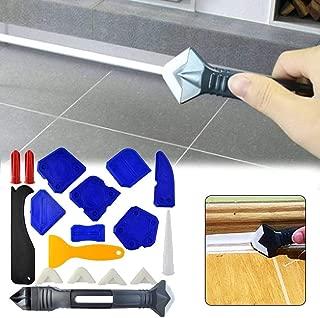 Eternitry Encolador de Pala de 18 Piezas, Limpiador de Azulejos de Piso de Cemento de Vidrio, rasqueta de plástico