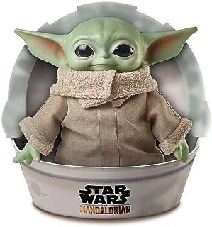 Star Wars GWD85 - The Child Mjuk figur, 28cm hög Yoda-liknande mjuk figur från The Mandalorian