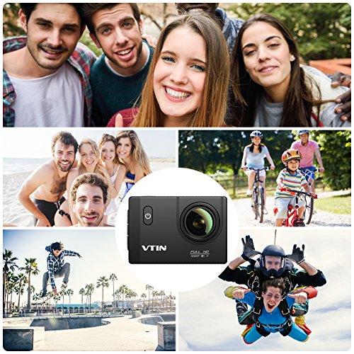 VTIN Action Kamera WIFI VTIN Full HD 1080P Sport Action Camera Cam Wasserdicht - 5