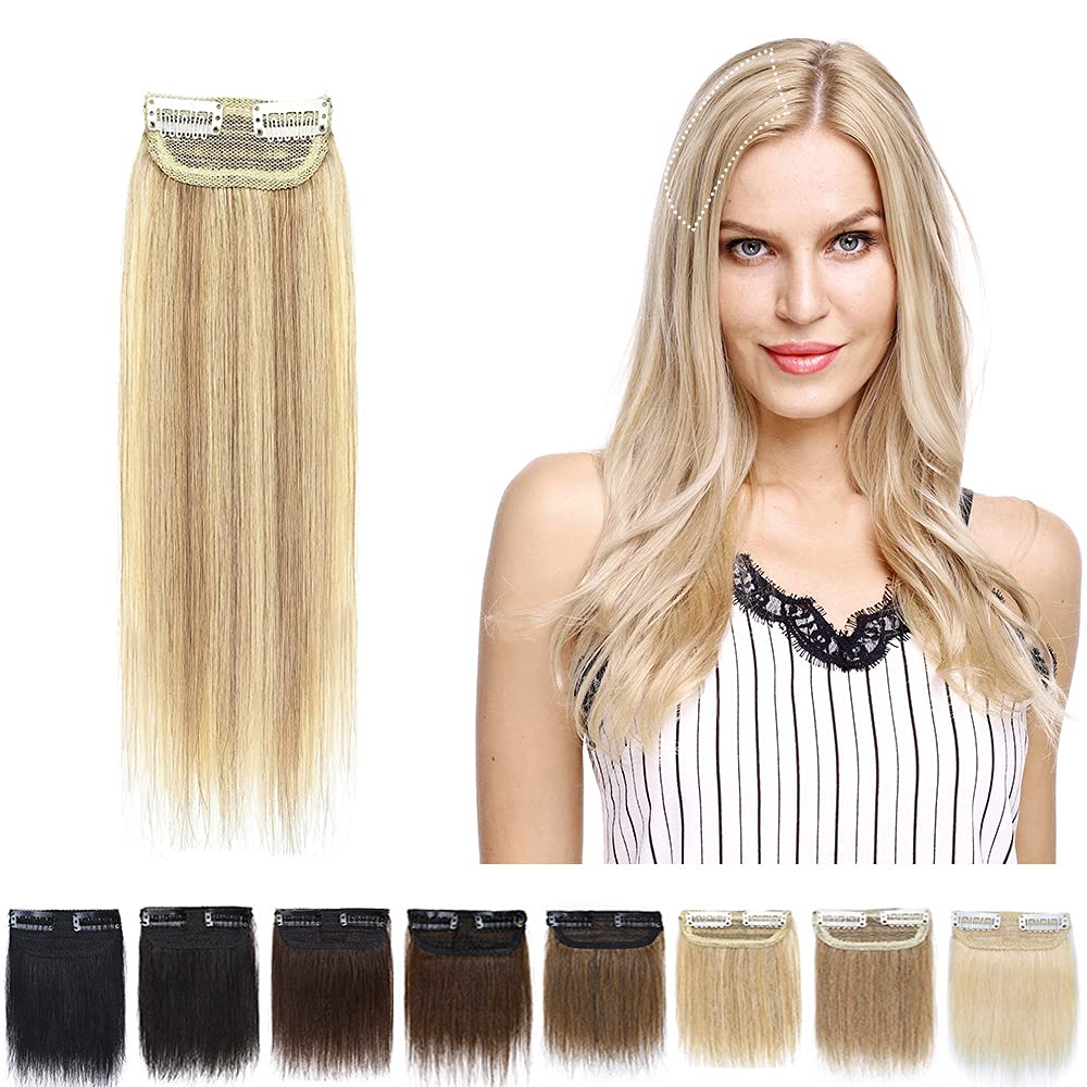 SEGO Clip in Hair Piece 8 Inch Clip in Remy Human Hair Extension