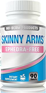 Nuderm Arm Fat Burner Reduces Arm Size without Body Wraps or Arm Shaper Naturally. Lose Arm Fat without Weight Loss Creams