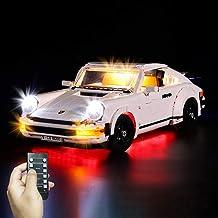 Yovso Verlichtingsset voor Lego 10295 Porsche 911 Turb, LED-verlichtingsset licht compatibel met Lego 10295 (alleen LED-ve...