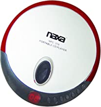 Naxa NPC-319 Slim Personal Compact Disc Player colors may vary
