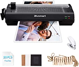 5 in 1 Blusmart Laminator Set, A4, Trimmer, Corner Rounder, 20 Laminating Pouches, Photo..