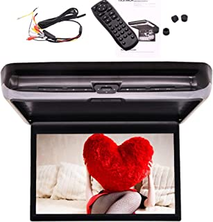 Newest 13.3 Inch 16:9 Ultra-Thin FHD Digital IPS DVD Screen 1080P Video Car Overhead Player Roof Mounted Monitor HDMI Port...