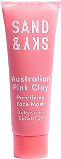 Sand & Sky Australian Pink Clay Porefining Face Mask- Mini Sample Size (0.45 oz)