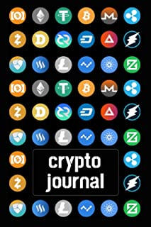 Crypto Journal: Bitcoin Investing Notebook For Crypto Lovers (Lined, 6 x 9)