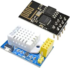 Aideepen ESP8266 ESP-01 AM2302 DHT22 Temperature Humidity Sensor WiFi Wireless Module for Arduino Replace SHT11 SHT15