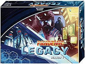 Z-Man Games Pandemic Legacy Board Game, Blue