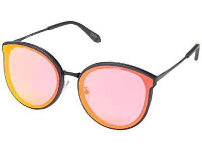 Spy Optic Colada (Matte Trans Gray Gloss Black/Rose/Burgundy Flash Mirror) Fashion Sunglasses