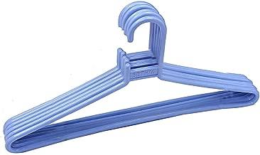 Blumfye Hanger Plastic 12 Pieces Hanger Set for Wardrobe (Multicolour)