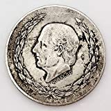 1951,México,Historia,Retro,Monedas,Coleccionables,Hermoso,Hermoso,Regalo,2Pcs Artesanía/marrón / 2pcs