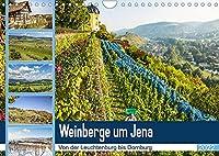 Weinberge um Jena (Wandkalender 2022 DIN A4 quer): Der Weinanbau in der Region Jena. (Monatskalender, 14 Seiten )