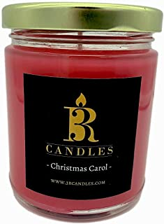 3R Candles Christmas Carol Scented Candle Soy/Paraffin Wax Glass jar - Fall & Winter Home Decor Gifts for Holiday & Christ...