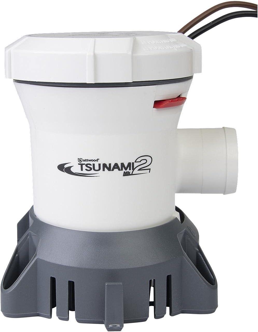 Attwood Tsunami MK2 1200 2021 new GPH 24-Volt Thred Bilge Manual In stock