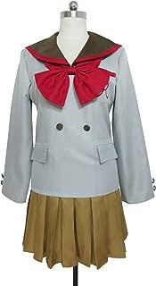 Princess Sailor Mars Rei Hino School Student Uniform Dress Cosplay Costume
