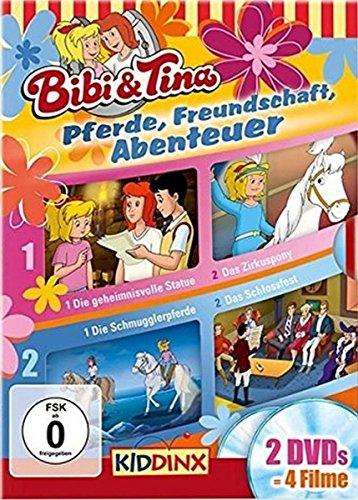 Bibi und Tina DVD Box. Pferde, Freundschaft, Abenteuer