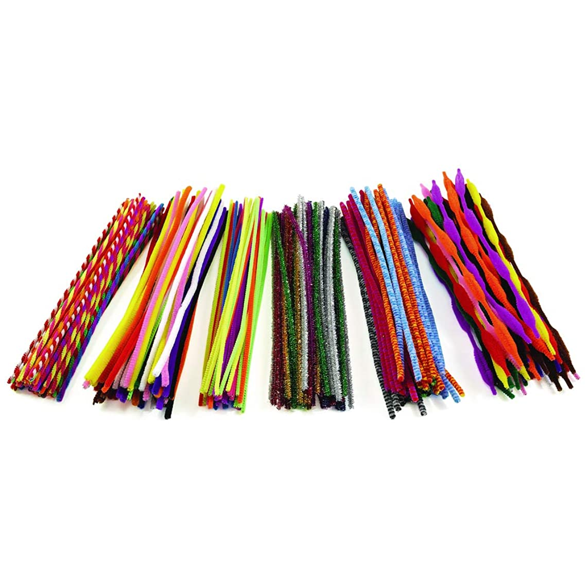 Colorations PCPACK Pipe Cleaner Classroom Pack 2 (Pack of 250)