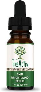 TreeActiv Skin Brightening Serum, Spot Corrector for Dark