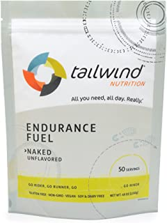 Tailwind Nutrition Naked (Unflavored) Endurance Fuel 50 Serving - Hydration Drink Mix with Electrolytes, Ca...