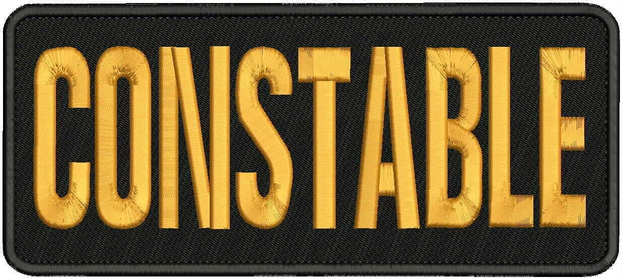 Embroidered Trust Patch - List price Patches Man Constable Women for