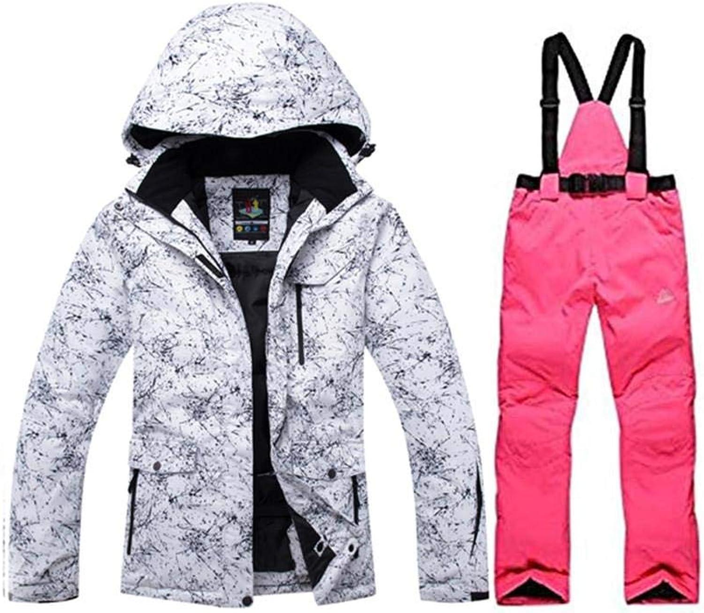 Sporting Style 2018 High Waterproof Windproof Technology Snowboard Ski Jacket Pants Set