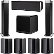 Definitive Technology 7.1 System with 2 BP9080X Tower Speakers, 1 CS9080 Center Channel Speaker, 4 SR9040 Surround Speaker, 1 Definitive Technology SuperCube 8000 Powered Subwoofer