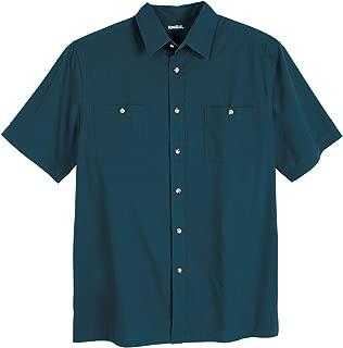 Men's Big & Tall Short Sleeve Solid Sport Shirt