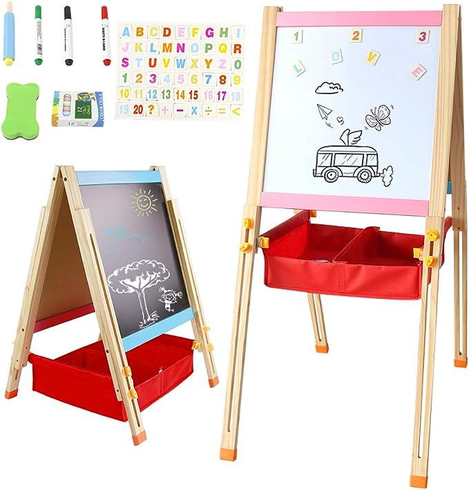 208 opinioni per Lavagna con Cavalletto Pittura Bambini per Dipingere Lavagna Magnetica per