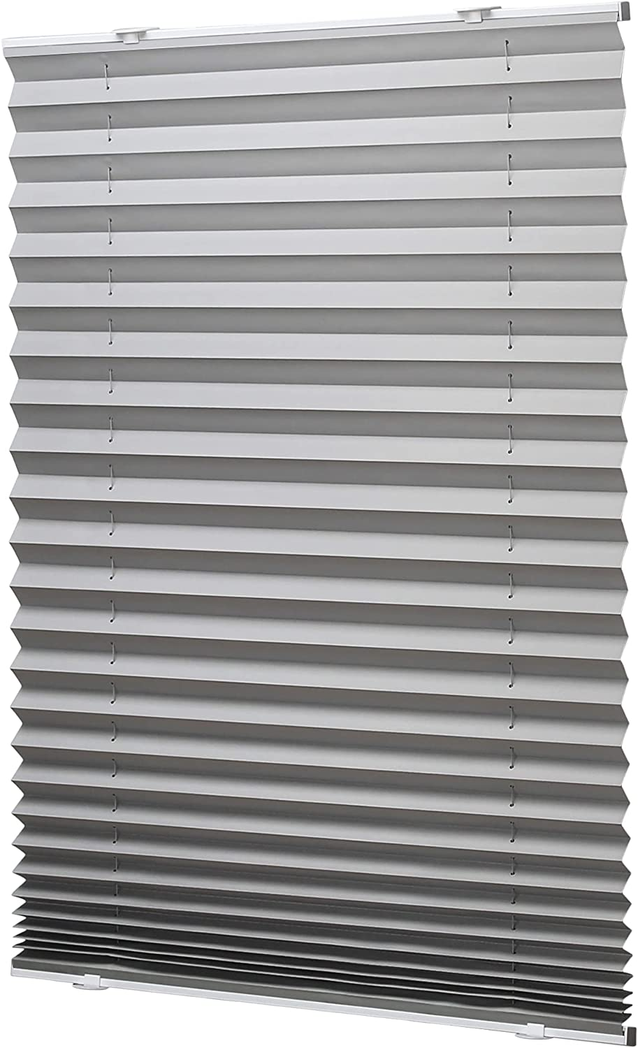 LazBlinds New sales Tool-Free Cordless Pleated Shades An Luxury with Suction Cups