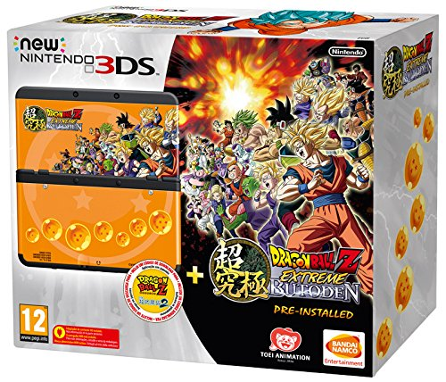 New Nintendo 3Ds: Console + Dragon Ball Z: Extreme Butoden Pack -...