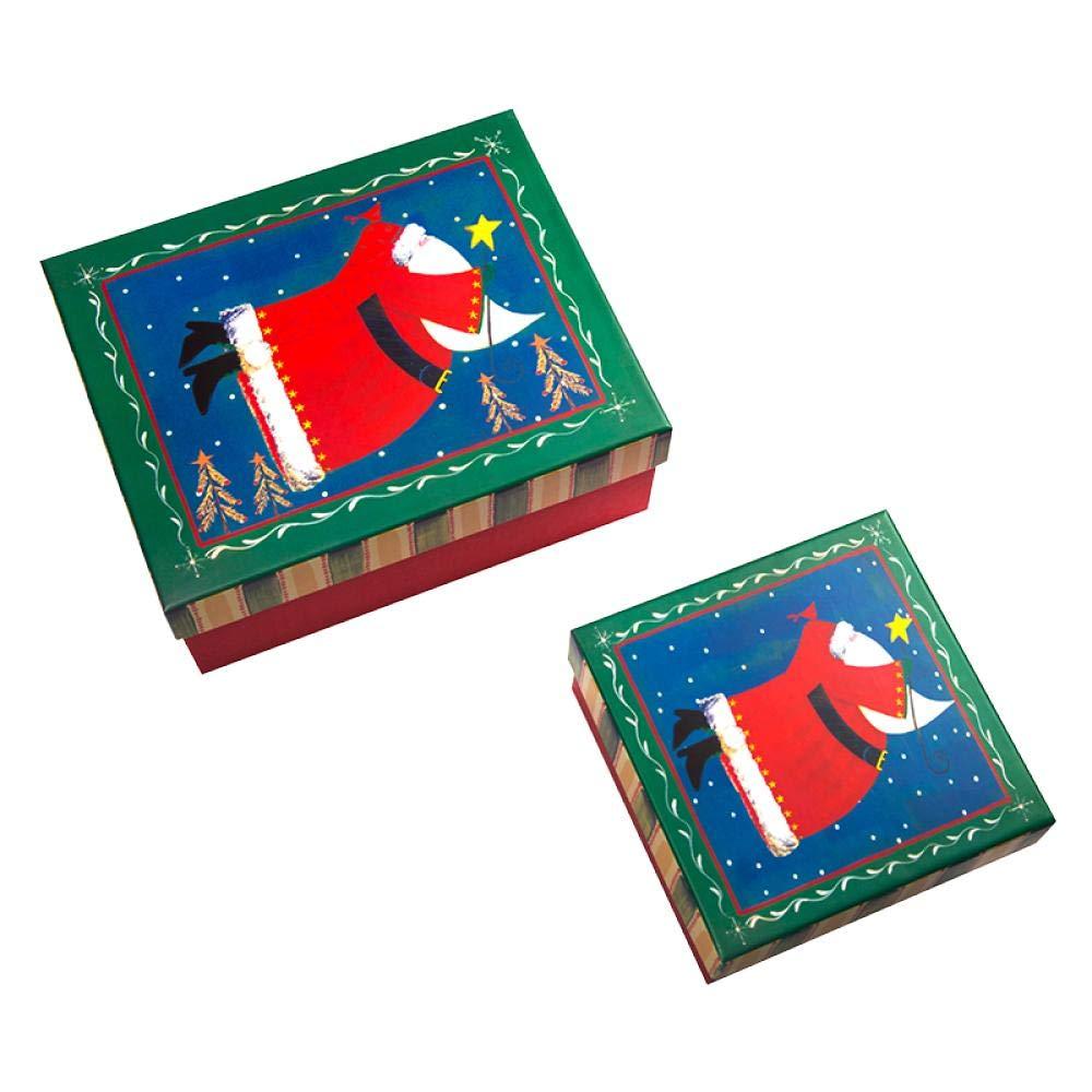 Caja de regalo de Navidad, caja de regalo, caja de embalaje, caja ...