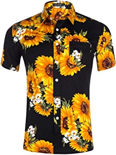 62b0e6b2e4 Amazon.it: girasole - T-shirt, polo e camicie / Uomo: Abbigliamento