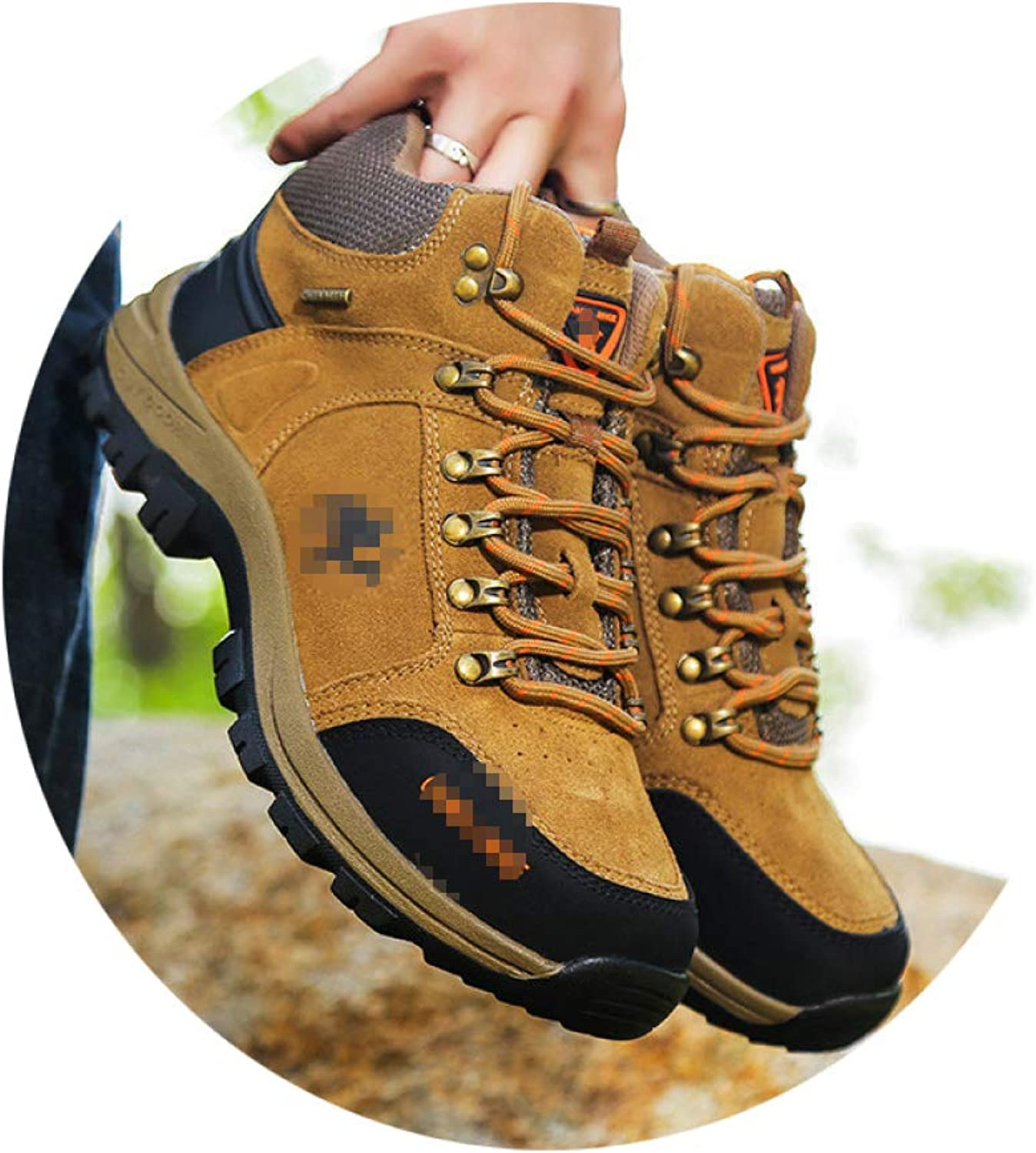SHOES Winter High-Top Outdoor Cotton, Warm And Velvet Hiking, Fashion Trend Walking, Men'S