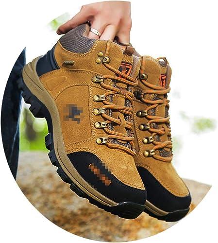 chaussures Chaussures en Coton D'Extérieur Haut De Gamme d'hiver, Chaussures De Randonnée Chaudes Et Velours, Chaussures De Marche Tendance, Chaussures pour Hommes