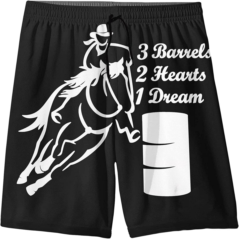 Changzixlaw Overseas parallel Cheap bargain import regular item Barrel Racing Horse 3 Barrels 1 Dream Boy Hearts G 2
