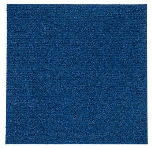 Selbstklebende Teppichfliese, einfach abzuziehen und aufzukleben, 12 Fliesen/12 m²