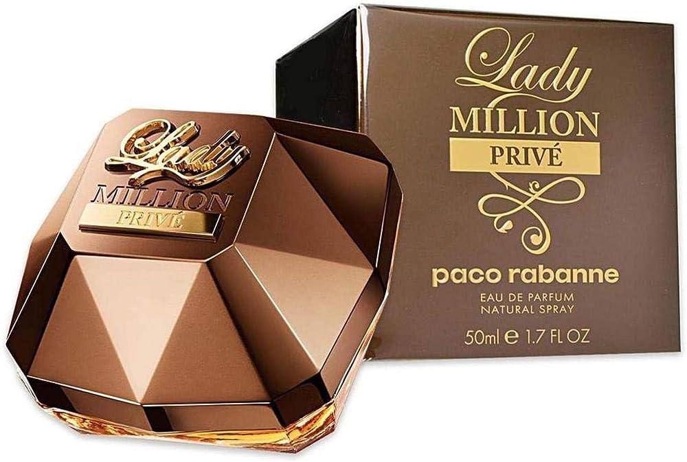 Paco rabanne lady milion prive`, eau de parfum per donna, 50 ml PAC002