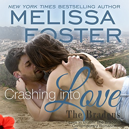 Crashing into Love: Jake Braden audiobook cover art
