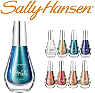 Lot of 5 Sally Hansen Lustre Shine Finger Nail Polish Color Lacquer All Different Colors No Repeats