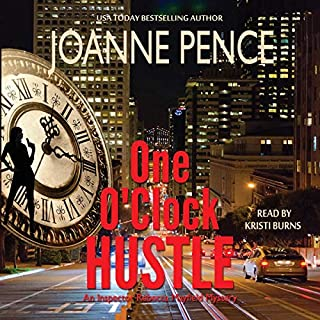 One O'Clock Hustle     Rebecca Mayfield Mysteries, Book 1              By:                                                                                                                                 Joanne Pence                               Narrated by:                                                                                                                                 Kristi Burns                      Length: 5 hrs and 47 mins     158 ratings     Overall 4.0