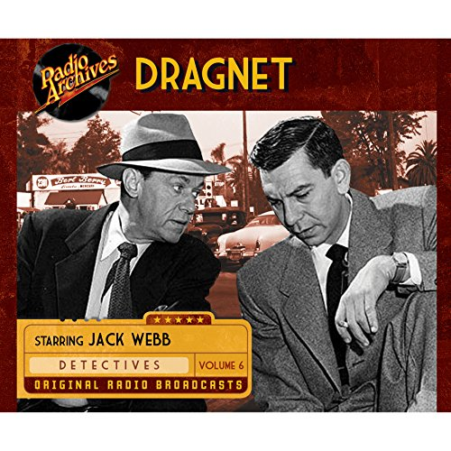 Dragnet, Volume 6 cover art