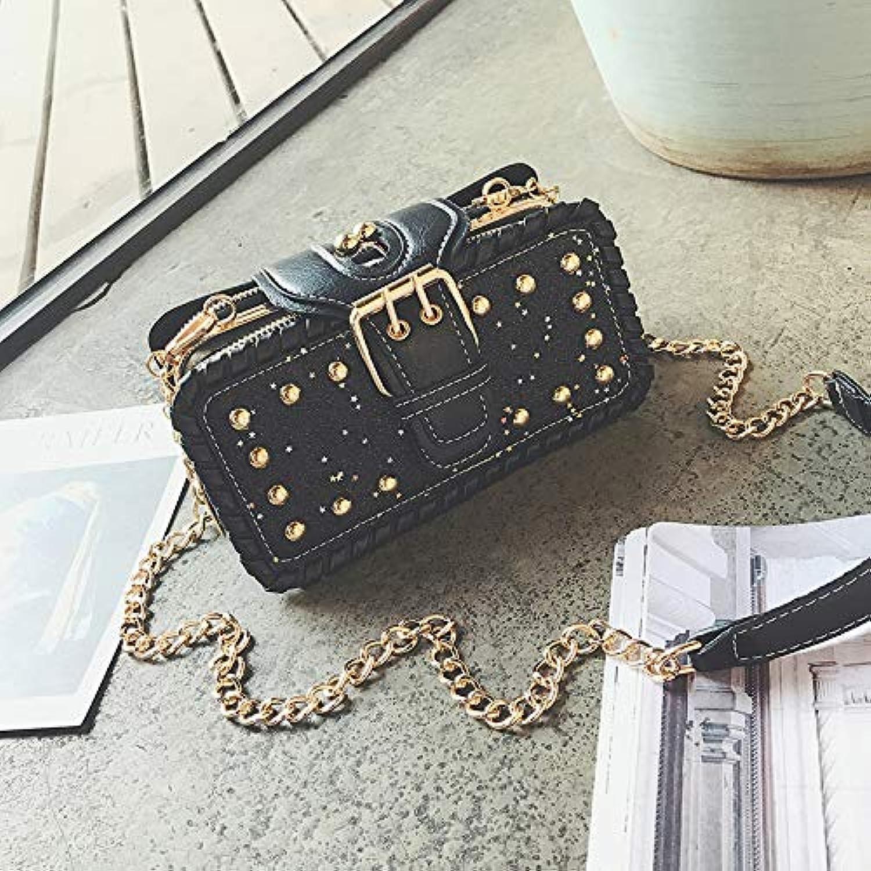 WANGZHAO Hot Women Bag New Trend Korean Version Chain Bag Small Shoulder Shoulder Bag