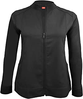 M&M Scrubs Women's Ultra Soft Front Zip Warm-Up Scrub Jacket (5200)