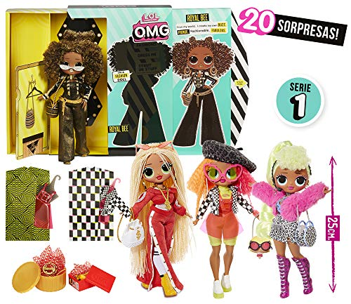 L.O.L Surprise - OMG Muñecas Fashion (Giochi Preziosi