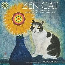 Zen Cat 2018 Wall Calendar: Paintings and Poetry by Nicholas Kirsten-Honshin
