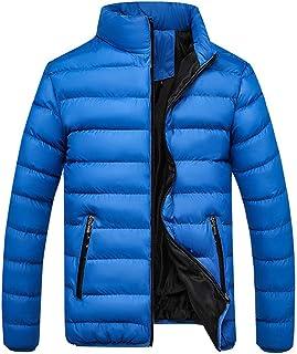 Men Puffer Jackets Down Coat Windproof Puffer Sweatshirt Hoodie Warm Winter Hooded Long Parka Softshell Overcoat Outwear