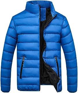 Amzeca Men's Winter Coat Outwear Zipper Jackets Hoodies Overcoat Sweaters Suits